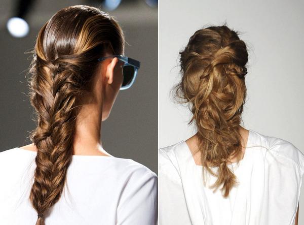прически на длинные волосы 2015г